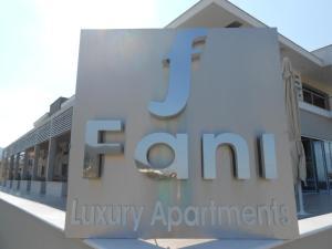 Auberges de jeunesse - Fani Luxury Apartments Stavros