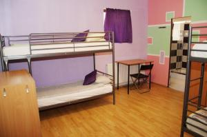 Bed in 4-Bed Mixed Dormitory Room with Private Bathroom JugendStube Hostel