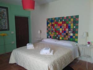 B&B Villa d'Aria, Bed & Breakfasts  Abbadia di Fiastra - big - 3