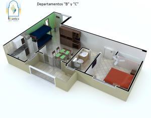 Departamentos Alhambra, Apartmány  Villa Gesell - big - 17