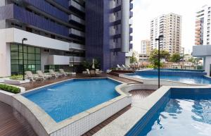 VIP Beira Mar Residence, Aparthotely  Fortaleza - big - 137