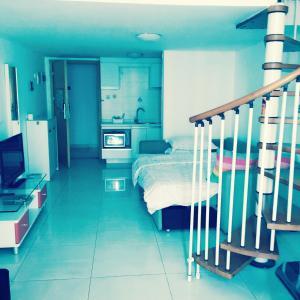 Meiru Apartment Hotel Guangzhou Bolin Apartment, Appartamenti  Canton - big - 37