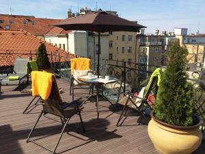 Апартаменты Grand Terrace, Прага
