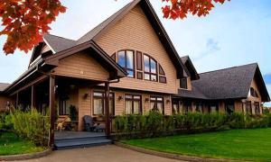 Auberge Les Jardins Inn-Motel Le Brayon & Chalets - Hotel - Edmundston