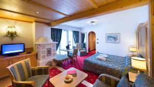 Alpen Hotel Corona, Hotely  Vigo di Fassa - big - 42