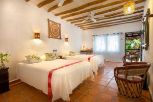 Beachfront Hotel La Palapa - Adults Only, Hotely  Ostrov Holbox - big - 35