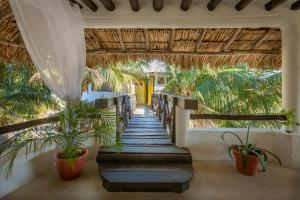 Beachfront Hotel La Palapa - Adults Only, Hotely  Ostrov Holbox - big - 46