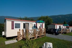 Vieno aukšto namas Ideal Camping Lampele Osiachas Austrija