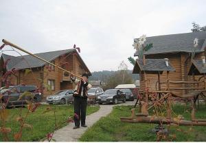 Отель Herdan Verkhovyna Lodges, Верховина