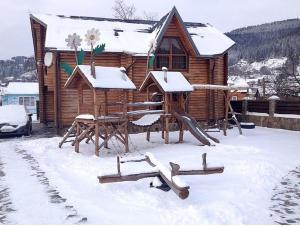 Hotel Gerdan Verkhovina, Lodges  Verkhovyna - big - 47