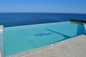 Beach Villa Pantheon, Vily  Pomos - big - 44