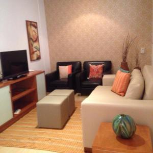 Flat South Beach, Aparthotels  Rio de Janeiro - big - 19