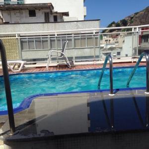 Flat South Beach, Aparthotels  Rio de Janeiro - big - 18