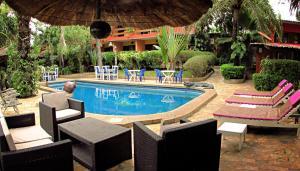 Hotel Napoleon Lagune, Hotely  Lomé - big - 69