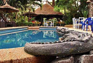 Hotel Napoleon Lagune, Hotely  Lomé - big - 100