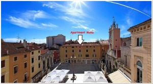 Apartment Moka Central Square, 23000 Zadar