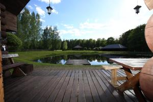 Recreation Center Brūveri, Комплексы для отдыха с коттеджами/бунгало  Сигулда - big - 76