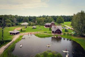 Recreation Center Brūveri, Комплексы для отдыха с коттеджами/бунгало  Сигулда - big - 59