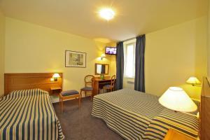 Le Terminus des Pèlerins, Hotel  Rocamadour - big - 21