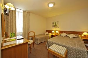 Le Terminus des Pèlerins, Hotel  Rocamadour - big - 16