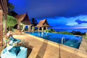 Villa Thai Teak - Panoramic Sea & Sunset Views - Ban Bang Makham