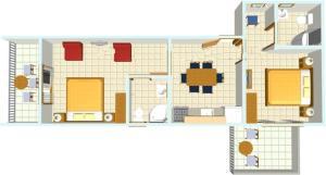 Apartments Kapetan Jure, Apartmány  Brela - big - 142