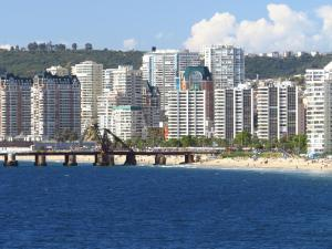 Departamento Aquamar, Appartamenti  Viña del Mar - big - 17