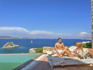 Eirini Luxury Hotel Villas, Vily  Grikos - big - 134
