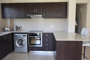 Zephyros Apartments, Apartmanok  Mandriá - big - 71
