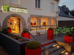 Hôtel La Résidence des Artistes - Roscoff