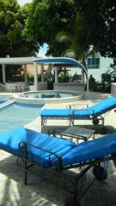 Casa Campestre El Peñon 5 Habitaciones, Aparthotels  Girardot - big - 12