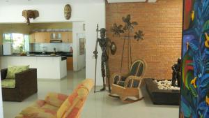 Casa Campestre El Peñon 5 Habitaciones, Aparthotels  Girardot - big - 13