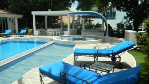 Casa Campestre El Peñon 5 Habitaciones, Aparthotels  Girardot - big - 14
