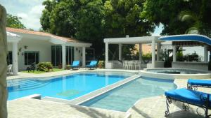 Casa Campestre El Peñon 5 Habitaciones, Aparthotels  Girardot - big - 16