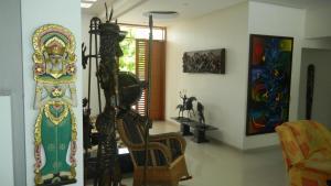 Casa Campestre El Peñon 5 Habitaciones, Aparthotels  Girardot - big - 19
