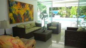 Casa Campestre El Peñon 5 Habitaciones, Aparthotels  Girardot - big - 20