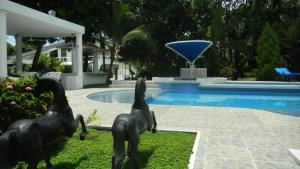 Casa Campestre El Peñon 5 Habitaciones, Aparthotels  Girardot - big - 38