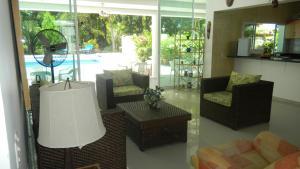 Casa Campestre El Peñon 5 Habitaciones, Aparthotels  Girardot - big - 40