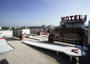 Hotel Rottal, Hotely  Otrokovice - big - 15