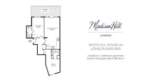 White Hill House 4, Апартаменты  Лондон - big - 9