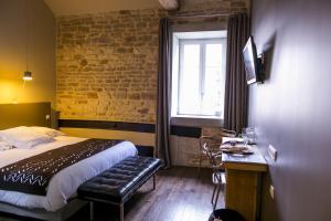 Aux Terrasses, Hotel  Tournus - big - 15