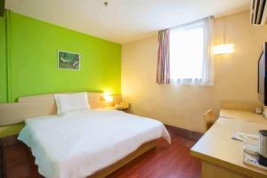 Hostels und Jugendherbergen - 7Days Inn Hanzhong Central Square Renmin Road Railway Station