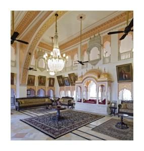 Alsisar Mahal- Heritage Hotel, Отели  Alsīsar - big - 78