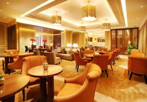 Landison Green Town Hotel Xinchang, Hotely  Xinchang - big - 8