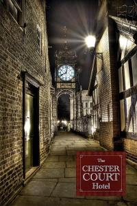 Chester Court Hotel, Отели  Честер - big - 8