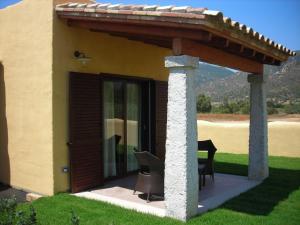 Doppelzimmer mit Terrasse und Gartenblick