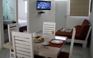 Cantabria House Suites, Апарт-отели  Агуаскальентес - big - 38
