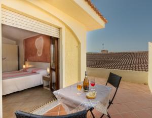 Doppel-/Zweibettzimmer mit eigener Terrasse