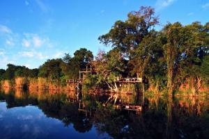 Lianshulu Lodge, Chaty v prírode  Luzibalule - big - 3