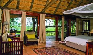 Lianshulu Lodge, Chaty v prírode  Luzibalule - big - 5